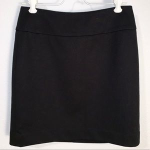 Ann Taylor Loft Black Skirt Size 0P